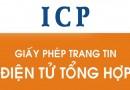 Giấy phép ICP – Trang tin điện tử tổng hợp